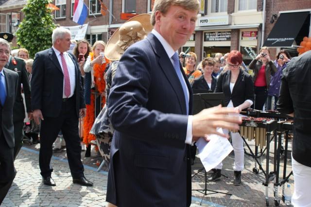 Bezoek Koningspaar in Vianen